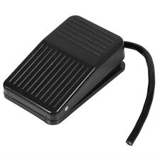 220V 10A Electrical Plastic Foot Pedal Switch On/Off Control Black + 10cm Cord