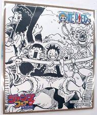 One Piece Mini Autograph Monkey D Luffy Jump Fair 2017 Limited Anime NFS F/S
