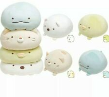 SAN-X Sumikko Gurashi Plush Dolls Polar Bear Kitty Dinosaur Soft Toy! UK Seller!