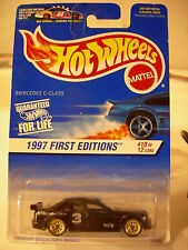 Hot Wheels Mercedes C-Class 1997 First Editions Black