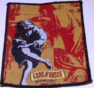 """GUNS N' ROSES -  """"USE YOUR ILLUSION I"""" 1991 - VINTAGE !!  PATCH - FREE SHIPPING"""