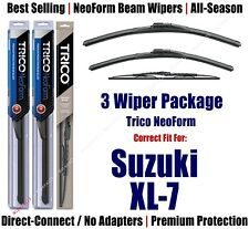 3pk Wipers Front & Rear - NeoForm - fit 2007-2009 Suzuki XL-7 - 16240/190/30130