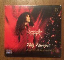 AMANDA MIGUEL - Feliz Navidad A Toda La Humanidad Original CD 2008 Mexican ed.