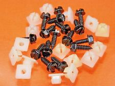 Mopar License Plate Screws & Nuts (Qty 32 Pcs) #1011