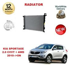 FOR KIA SPORTAGE 2.0 CVVT + AWD 2010-->ON NEW RADIATOR UNIT