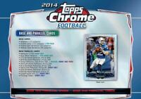 2014 Topps Chrome Football Complete Your Set Pick 25 Cards From List