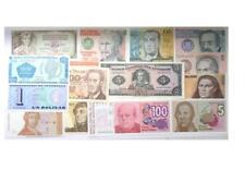 14 Banknoten Geldschein Venezuela Peru Ecuador Polen Jugoslawien Argentinien ...