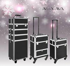 Alu Kosmetikkoffer groß Kosmetik Trolley Beautycase Make up Koffer Friseurkoffer
