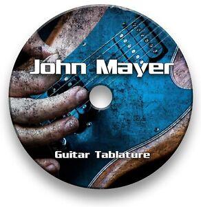 John Mayer Rock Guitar Tab Tablature Lesson Software CD - Guitar Pro