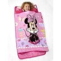 Disney Minnie Mouse Nap Mat Pink Girls Toddlers Soft Children Travel Sleep New