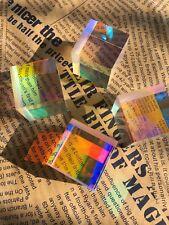 4PCS 26*28mm Cross RGB Dichroic X-Cube Prism For Natural Scientific Experiments