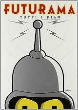 Futurama. Tutti i film (2009) Cofanetto Box 4 DVD NUOVO Il colpo grosso di Bende
