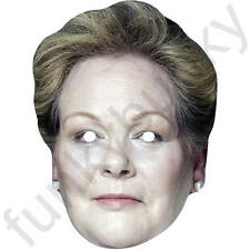 Anne Hegerty The Chase Celebrity Card Face Mask - All Our Masks Are Pre-Cut!