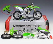 Motocicletas y quads de automodelismo y aeromodelismo color principal verde de escala 1:12