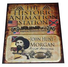American Civil War Confederate General John Hunt Morgan Patch In Carded Pack