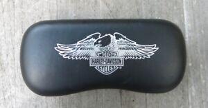 Harley Davidson Motorcycles sunglass/eyglass case, hard cover