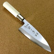 Japanese Kitchen Deba Knife 150mm 5.9 inch Single edged Right handed SEKI JAPAN