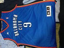Serge Ibaka blue Oklahoma City Thunder jersey size xl used