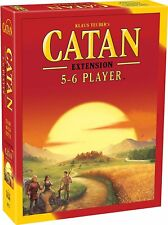 Catan 5-6 Player 5th Edition Extension Game Catan Studio Cn3072 Base Core