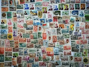 500 Different Morocco (French) Stamp Collection