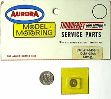 1 Aurora Model Motoring Slot Car T-Jet Thunderjet BRASS IDLER GEAR 1350 8319 A+