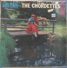 THE CHORDETTES, LISTEN - LP