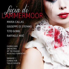 CD MARIA CALLAS Lucia di Lammermoor de Gaetano Donizetti totale d'accueil 2cds