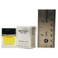 MICHAEL KORS FOR MEN by Michael Kors 0.16 oz ( 5 ml ) Eau Toilette SPLASH MINI