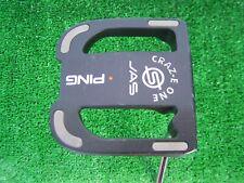 "Ping Golf Craz-E One JAS Large Mallet Putter Head 33"" Orange Color Code RH"