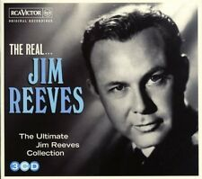 JIM REEVES - THE REAL.....THE ULTIMATE COLLECTION: 3CD SET (2013)
