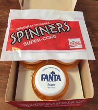 FANTA RUSSELL Irish Coca Cola YoYo & 3 Strings Pack 1980's NEW FROM BOX, Yo-Yo