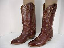 FRYE 2329 LEATHER PULL ON COWBOY WESTERN BOOTS MEN'S 9.5 D