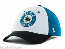 San Jose Sharks Zephyr Circle Trey NHL Team Logo Hockey Cap Hat  OSFM