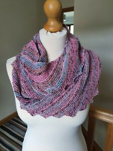 Women's Hand Knitted Scarf - Pink