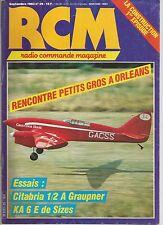 RCM  N°29 LA CONSTRUCTION : BASE DE FABRICATION DES MODELES REDUITS / CITABRIA