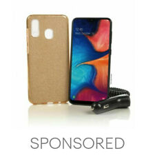 Tracfone Samsung Galaxy A20 + 1 Year of Service with 1500 MIN/1500 Text/1500MB