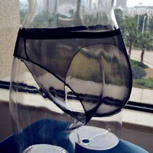 Women Sheer Panties Thong Ultra-thin Mesh Underwear See-through Lingerie Knicker