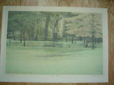 "HAROLD ALTMAN Large Original Lithograph ""Seated Man""- Pencil Signed Artist Proof"