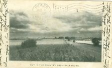 Galesburg IL Out in the Country 1906