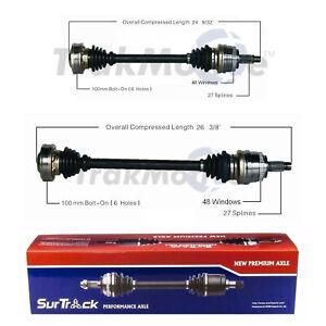 SurTrack Pair Set of 2 Rear CV Axle Shafts For BMW E46 E85 323Ci 325i 330Ci Z4