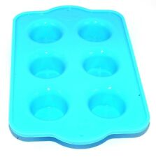 Silicone Mini Muffin Mould Cupcake NonStick Mold Baking Oven Pan Tray Blue