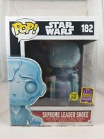Star Wars Funko Pop - Supreme Leader Snoke - The Force Awakens -  SDCC - No. 182