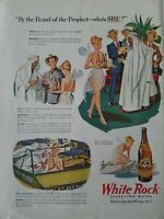 1946 White Rock Sparkling Water by the beard of the prophet who's she vintage ad