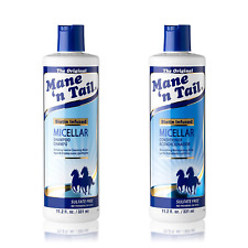 Mane 'n Tail Micellar Sulfate Free Shampoo and Conditioner Milk Biotin Infused