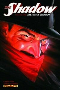 THE SHADOW: THE FIRE OF CREATION  VOL 1 BY ENNIS & CAMPBELL~ DYNAMITE TPB