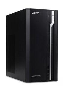 Acer ES2710G Tower PC, Intel Core i3, 4GB RAM, 1TB HDD, Windows 10 Pro