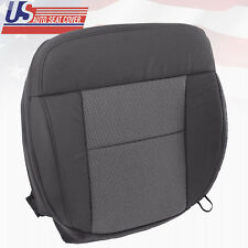 2004 - 2006 Ford F150 Front Driver Bottom Replacement Cloth Seat Cover Dark Gray