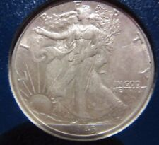 WALKING LIBERTY HALF DOLLAR COLLECTION GREAT LOOKING SHORT SET COMPLETE 1941- 47