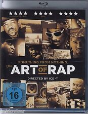 Something from Nothing: The Art Of Rap - Directed by Ice-T  (Blu-ray, NEU!)
