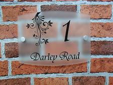Unbranded Floral Decorative Outdoor Signs/Plaques